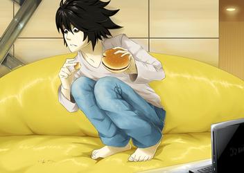 L you must eat meat by GaaraJamiE88