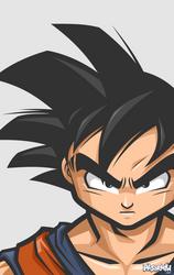 Goku by mljarmin