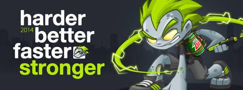Harder | Better | Faster | Stronger by mljarmin