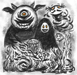 Whimsy Monsters