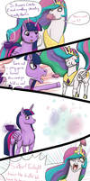 I Know what You are - MLP Comic by Azurllinate