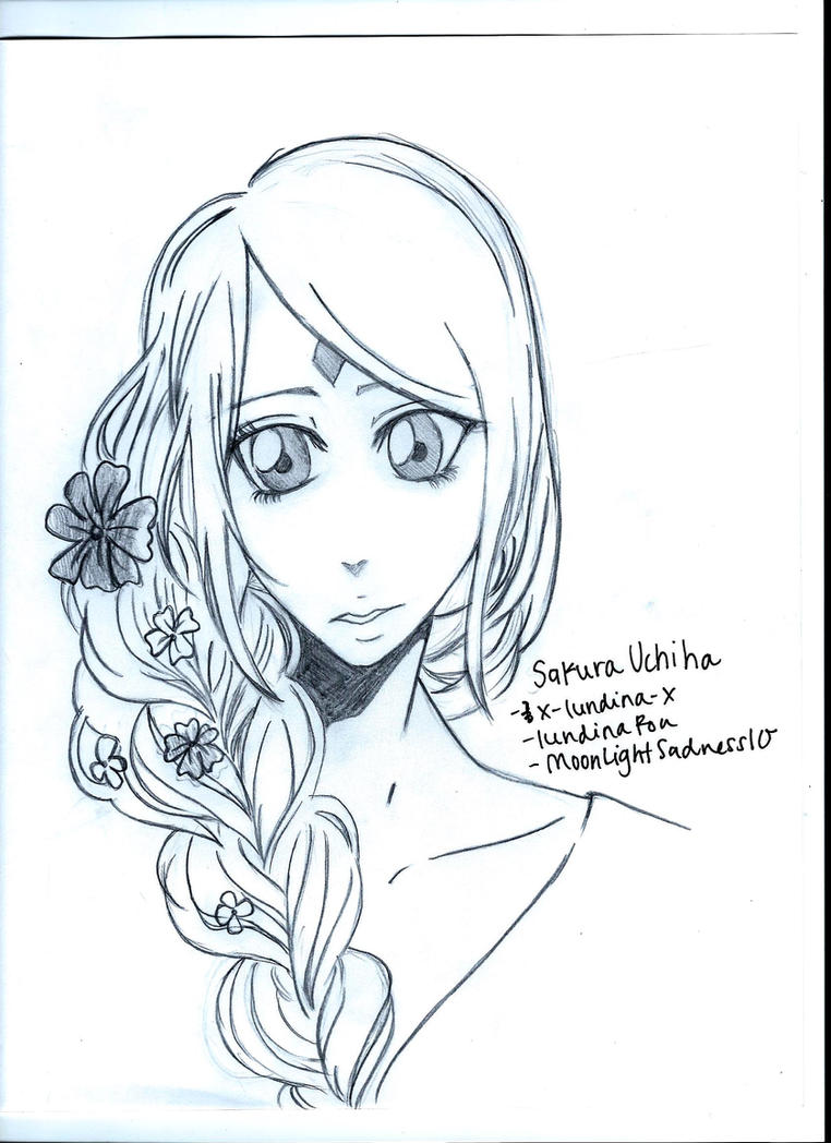 Sakura Haruno by MoonLightSadness10