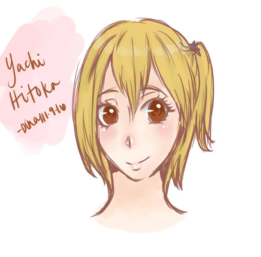 Yachi Hitoka by MoonLightSadness10