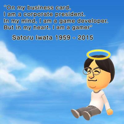 Satoru Iwata [Tribute] by DigiBowser