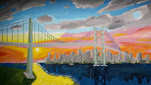 Vancouver at Sunset by Jovial-Developer