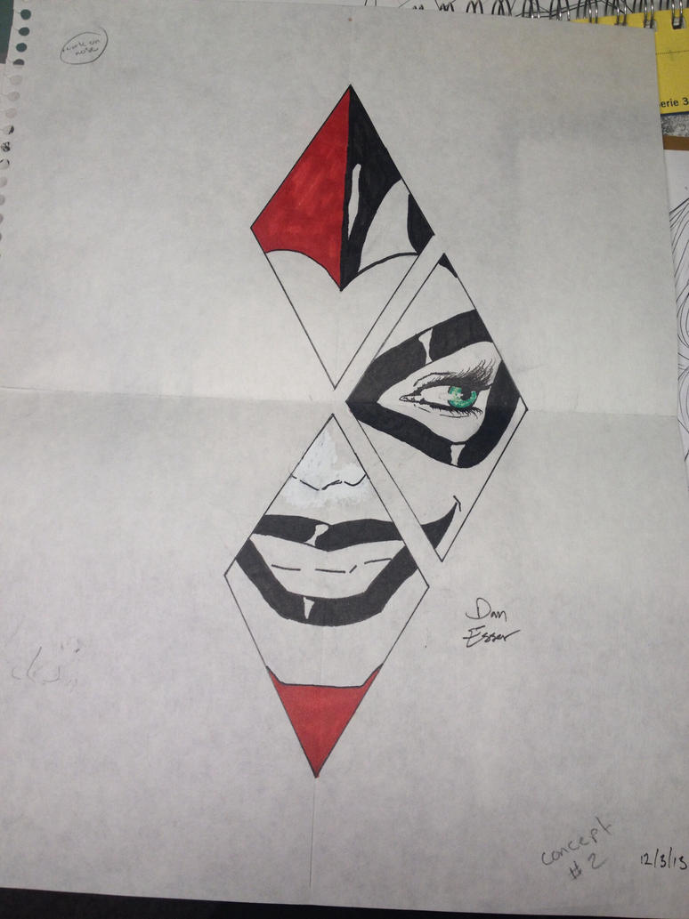 Harley Quinn Tattoo Concept By Desser94 On DeviantArt