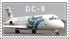 DC-9 Stamp by pauldy