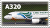 A320 stamp by pauldy