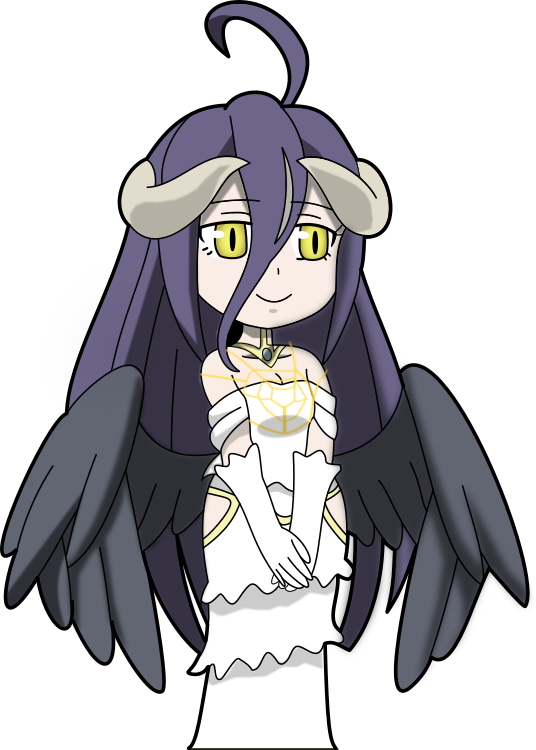 Albedo (Overlord) by Grim-S-Morrison