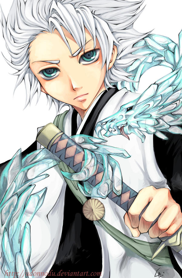 Bleach: 10th captain Hitsugaya by Unodu