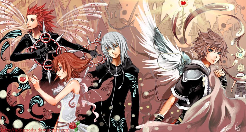 Sora Kingdom Hearts Lineart : Kingdom hearts roxas kvover tumblr fictional stuffs random