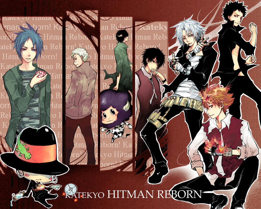 Katekyo Hitman Reborn by Unodu