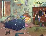 Cat Boys Room