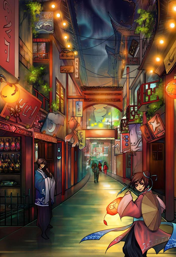 City_Lights by Unodu