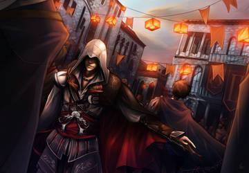 Assassin's_Creed_Ezio by Unodu