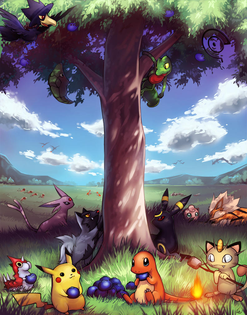 Poke_Party by Unodu