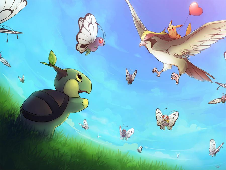 Pikachu_Valentines by Unodu
