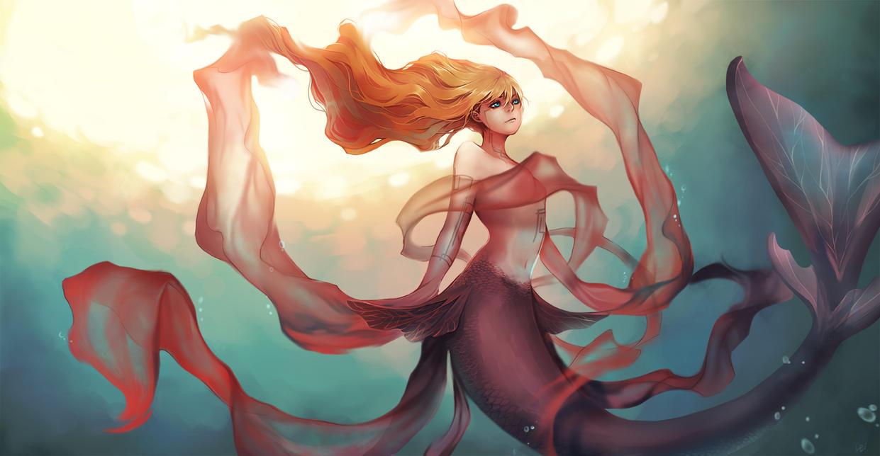 Lady_Goldfish by Unodu