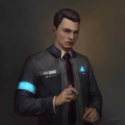 Detroit: Become Human Connor by Unodu