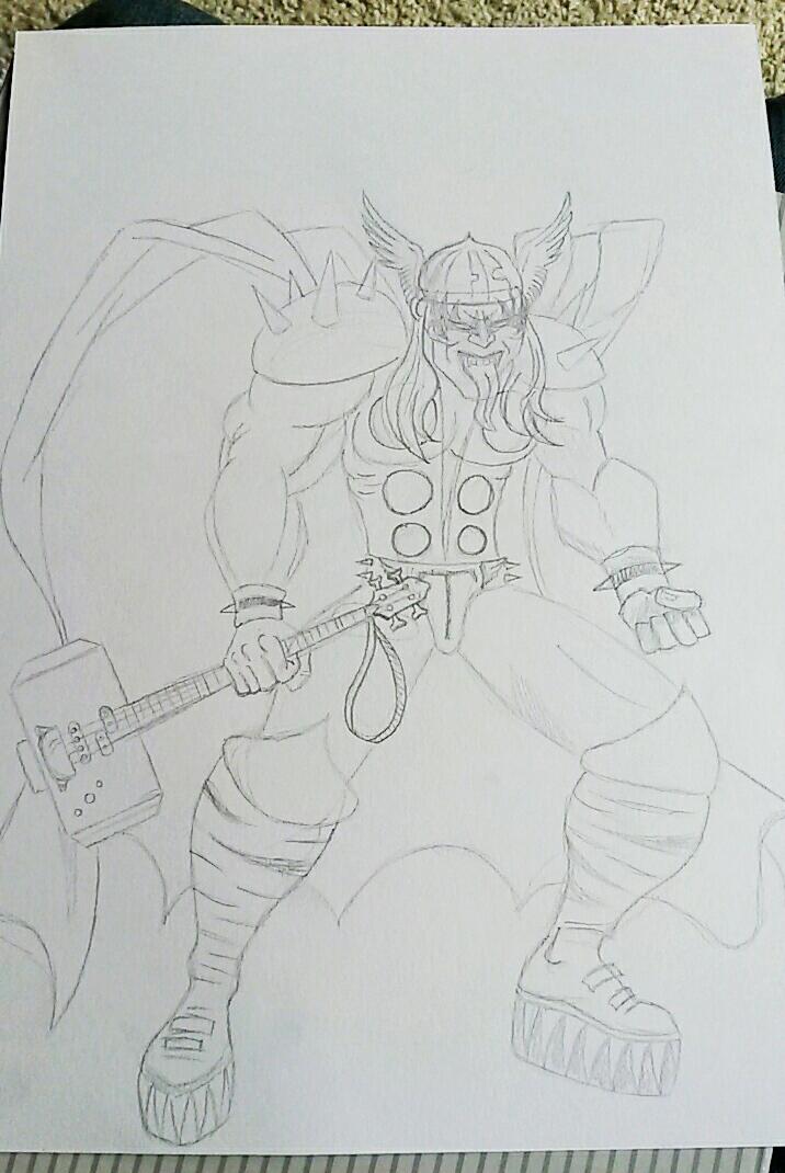 God of Thunder... by JohnOC89