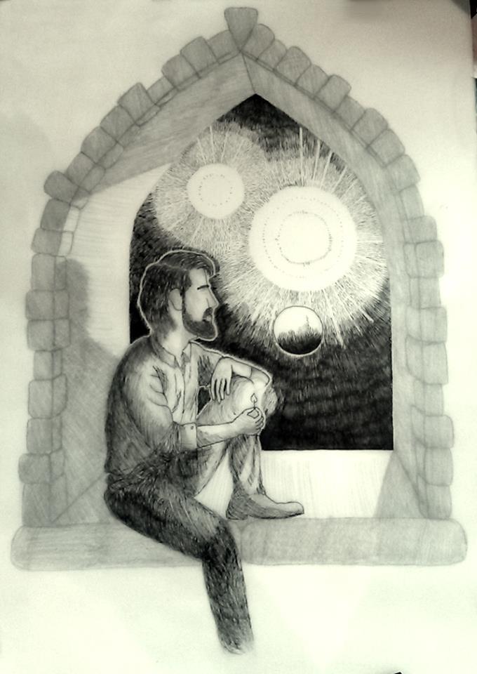 Window Stargazer, Voyage to Arcturus by JohnOC89