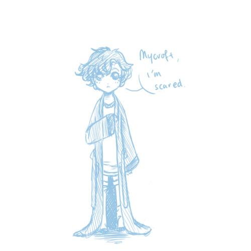 . Mycroft? . by LittleLaceDress
