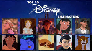My Top 10 Fave Disney Characters