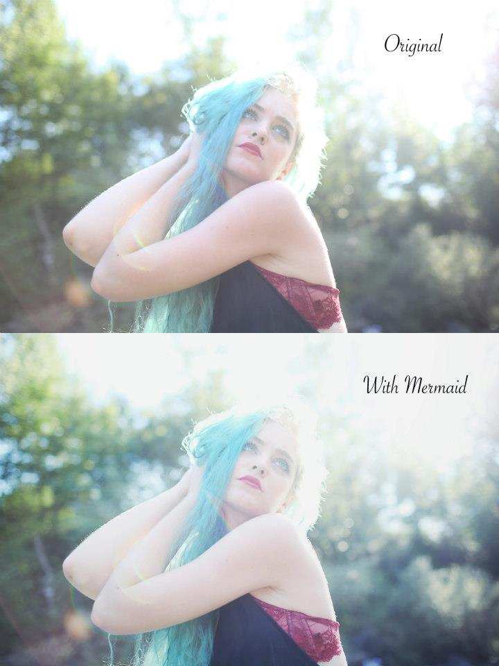 Free Photoshop Action Mermaid by lciam
