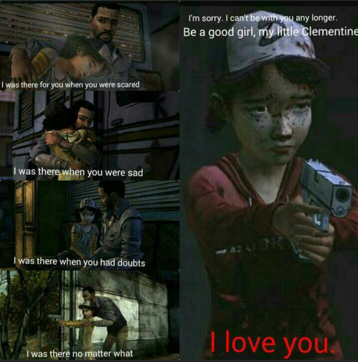 Lee Everett x Child!Reader x Clem: I Love You by SkullTheDog88 on