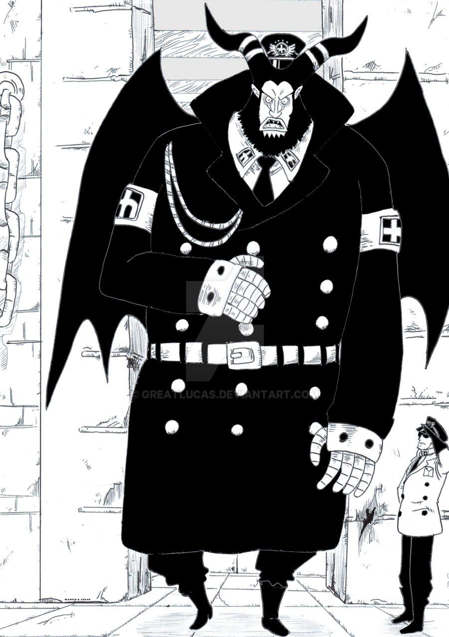 One Piece, Magellan by GreatLucas on DeviantArt