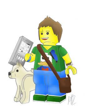 My friend, Lego version