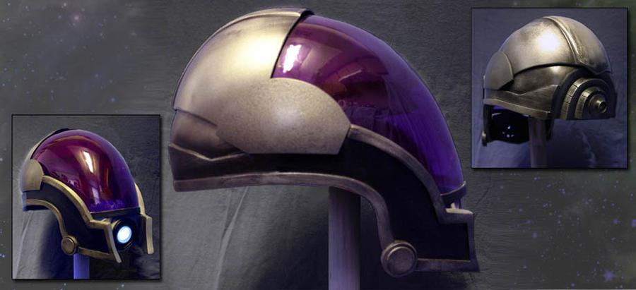 Tali'Zorah ME2 Concept Helmet by anarchysquared