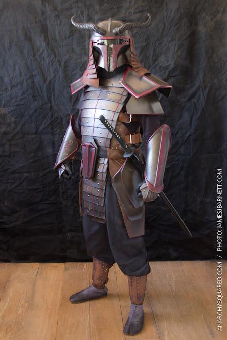 Samurai Boba Fett by anarchysquared