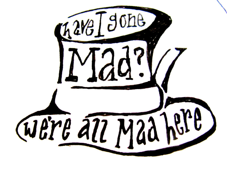 Mad hatter tattoo design by gnomeified on deviantart for Tattoo shop etiquette