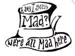 Mad hatter tattoo design