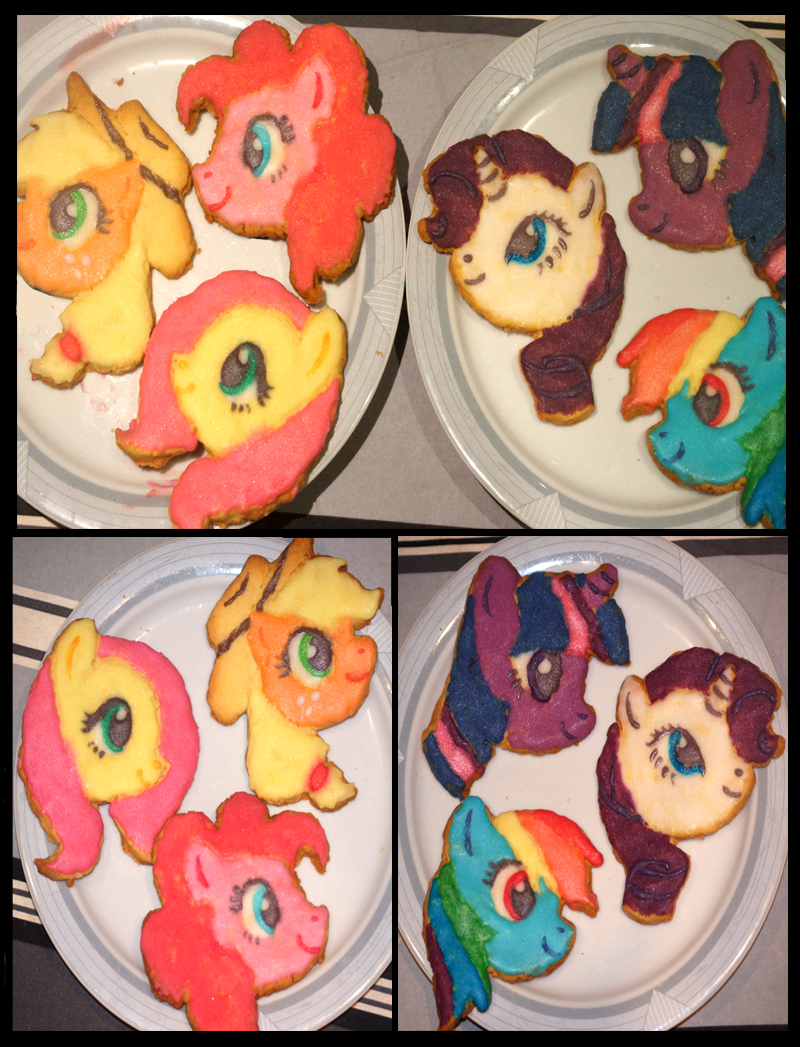 Edible Ponies by Kitsoow