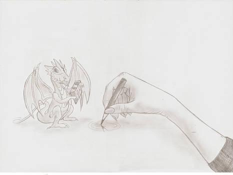 Hand and Dragon