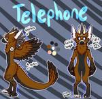 redid telephones ref