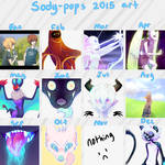 2015 art summary by Sody-Pop