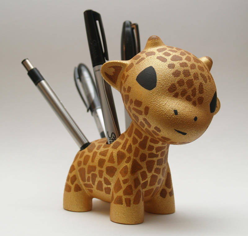 Raffy Giraffe The Pen Holder By Mindofthemasons On Deviantart