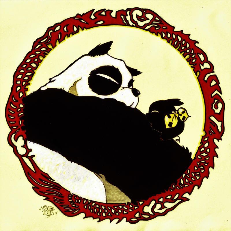 Genma Panda Et P Chan By Hilare