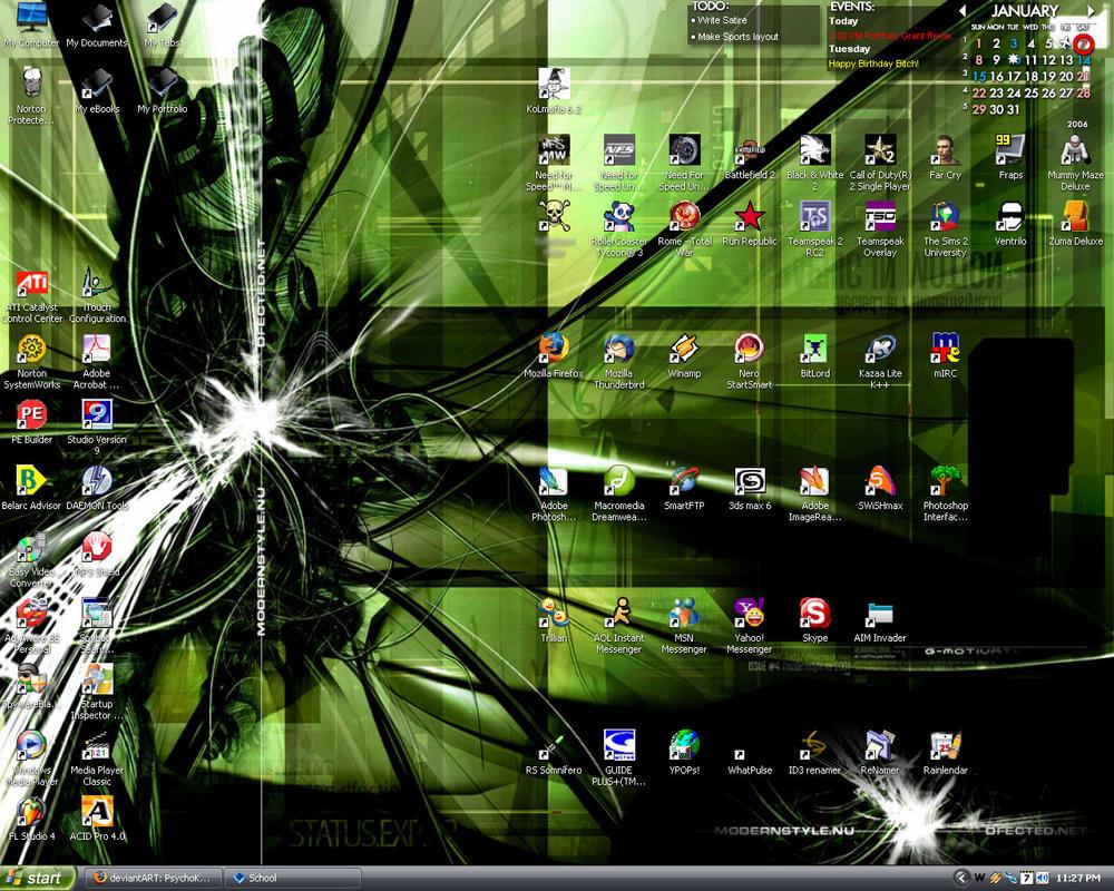 Screenshot - Jan. 7 2006 by PsychoKlown408