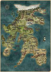 Drenai map (David Gemmell novel)