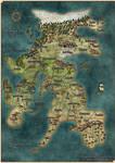 Drenai map (David Gemmell novel) by MrDevilien