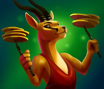 A Gazelle