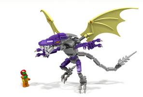 LEGO Meta Ridley by M0aHerder