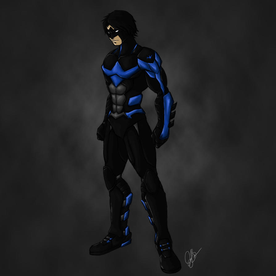 Nightwing Concept 2 by joeybowsergraphics