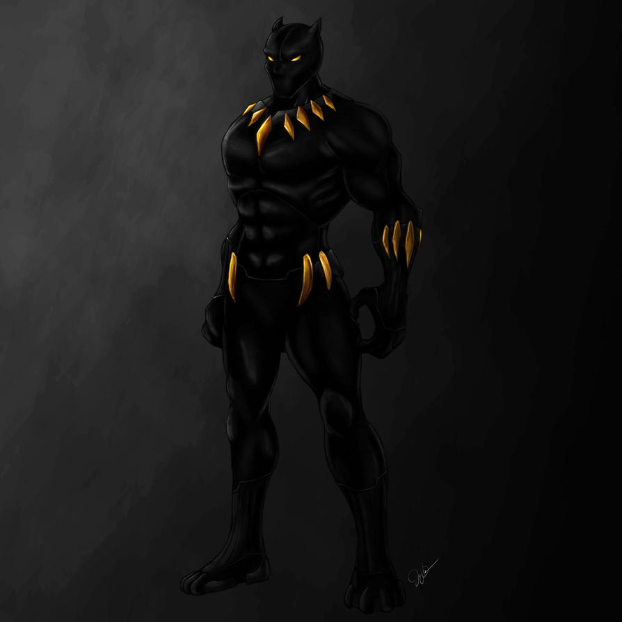 Black Panther Concept by joeybowsergraphics