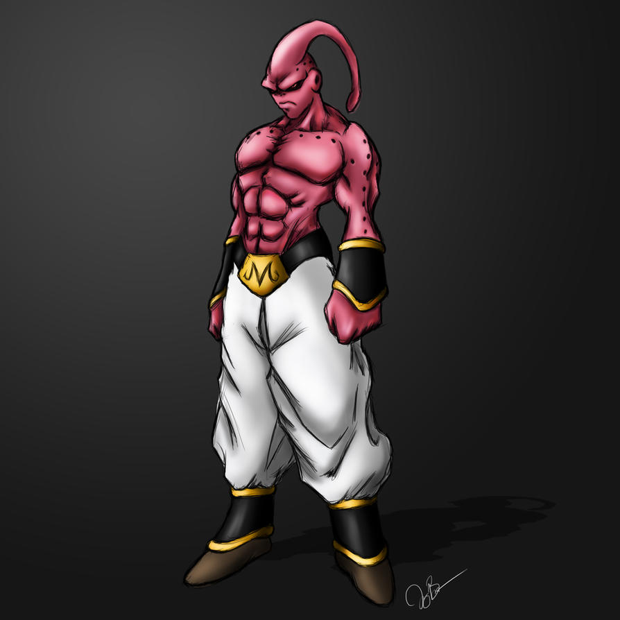 Super Buu Concept by joeybowsergraphics