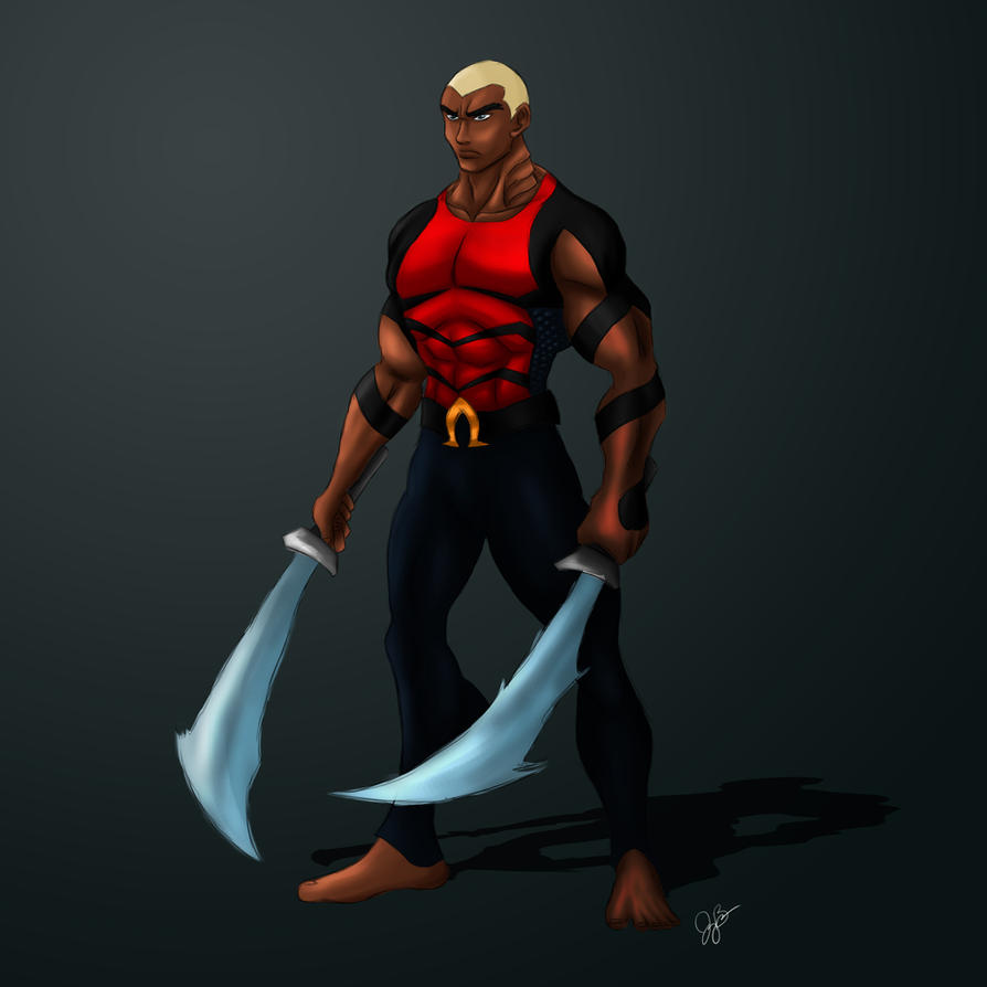 Aqualad Concept by joeybowsergraphics